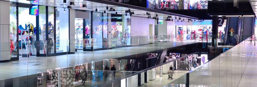 centre commercial à plan de campagne
