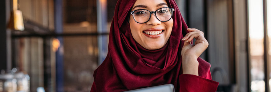 Hijab de femme musulmane