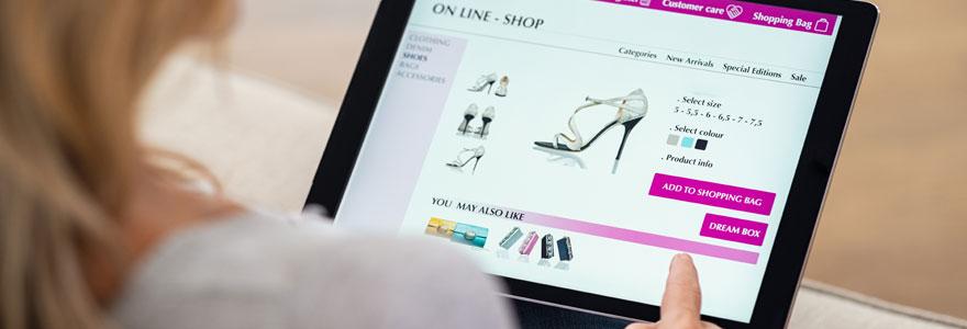 Chaussures en ligne